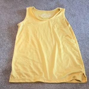 Tops - Runningskirts.com size small yellow running top
